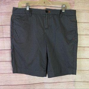 Tommy Hilfiger Navy Blue Polka Dot Shorts Sz10